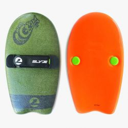 Slyde The Grom Handboard - Army Green/Pilsner