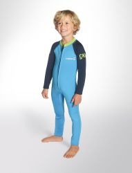 C-Skins Baby Steamer Toddlers Wetsuit 2021 - Cyan