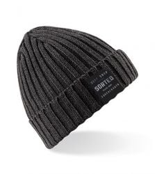 Sorted Surf Shop Knitted Beanie - Grey
