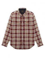 Dark Seas Wedge Shirt Jacket - Brown