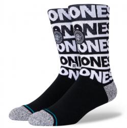 Stance The Ramones Infiknit Socks - Black