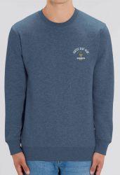 Sorted Surf Shop Premium Arc Crew Sweatshirt  2021 - Heather Blue - Front