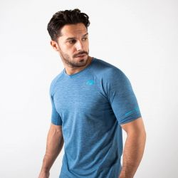 Zone 3 Mens Power Burst T-Shirt - Royal Blue