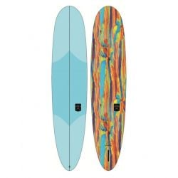 """Ocean and Earth The General Epoxy Soft  7'0"""" Longboard 2021 - Sky Blue"""