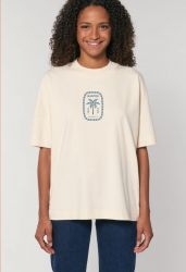 Sorted Surf Shop Boyfriend Tee 2021 - Natural Raw - Front
