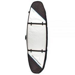 Ocean & Earth Triple Coffin Shortboard Cover - Silver