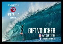 Wetsuit Centre £250 Gift Voucher
