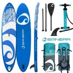 """Spinera SupVenture 12'0"""" Inflatable Stand Up Paddle Board - Blue"""