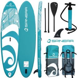Spinera Lets Paddle 9'10' Sup Paddle Board 2021 - Blue\White