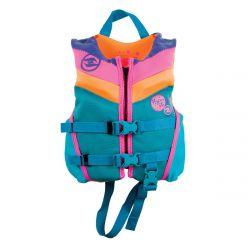 Hyperlite Girls Child Indy CGA Neo Impact Vest 2021 - Multi-Colour - Front