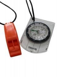 Zone 3  Swim-Run Compass and Whistle Bungee Combo - 2021 - Front