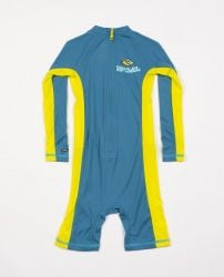Rip Curl Boys Long Sleeve UV Spring Suit 2021 - Lime