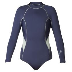 Xcel 2mm Long Sleeve Back Zip Womens Spring Suit Ink Blue