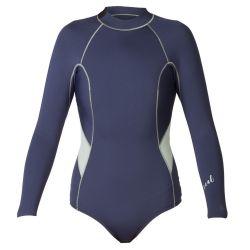 Xcel 2mm Long Sleeve Back Zip Womens Spring Suit Ink Blue