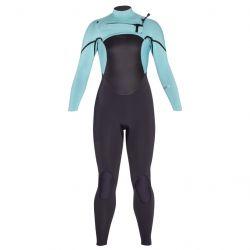 Xcel Axis X 4/3mm Womens Chest Zip Wetsuit 2021 - Pistachio