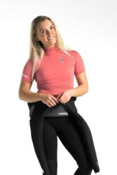 C Skins X Short Sleeve Womens Rash Vest - Coral