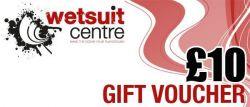 Wetsuit Centre £10 Gift Voucher