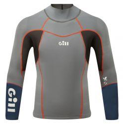 Gill Mens ZenLite Top 2021 -  Steel Grey - Front