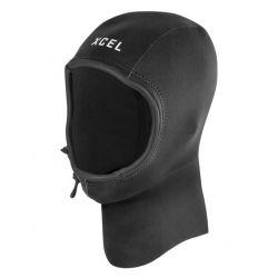 Xcel Axis 2mm Wetsuit Hood 2021 - Black - Full View