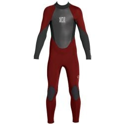 Xcel Axis Youth 3/2mm Back Zip Wetsuit 2019 - Chili