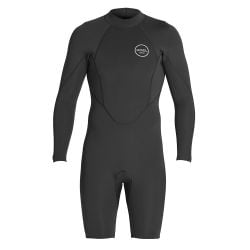 Xcel Axis 2mm Long Sleeve Back Zip Shorty Wetsuit - Small