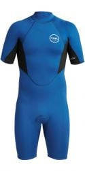 Xcel Axis Short Sleeve 2mm Mens Shorty Wetsuit - Blue