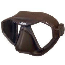 SEAC M70 Low Volume Mask 2021 - Brown - Full View