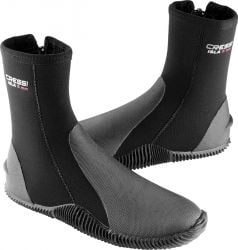 Cressi Isla 5mm Diving Boots 2021 - Black - Full View