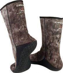 Cressi Tracina 3mm Wetsuit Dive Boots - Camo