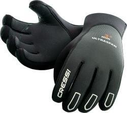 Cressi Ultraspan 3.5mm Wetsuit Gloves 2021 - Black