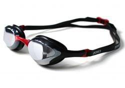 Zone 3 Volare Streamline Racing Swim Goggles 2021 - Black/Red - Side View