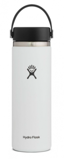 hydroflask white wide mouth