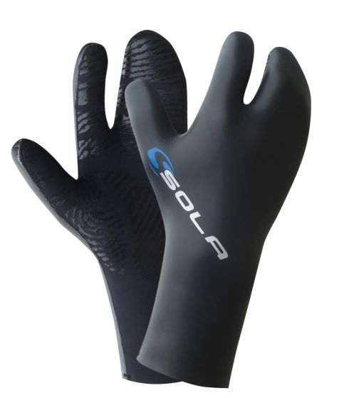 Sola 5mm Lobster Claw Thermal Wetsuit Gloves