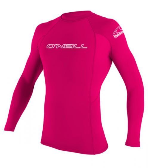 O'Neill Kids Watermelon Pink Rash Vest - Performance fit - 2016 - Long Sleeve f