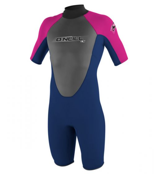 O'Neill Girls Reactor 2mm Shorty Wetsuit 2016 f