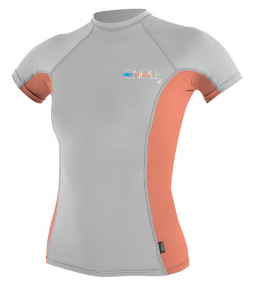O'Neill Ladies Skins S/S Crew Rash Vest