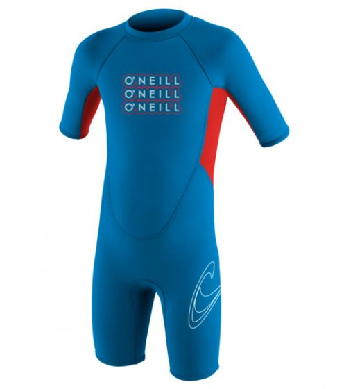 O'Neill Toddlers 2mm Reactor Boys Shorty Wetsuit 2016 f
