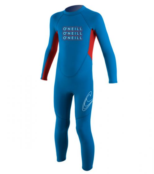 O'Neill Toddlers 2mm Reactor Boys Full Wetsuit 2016 - Blue f