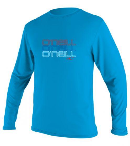O'Neill Toddlers Skins L/S Rash Tee 2016 - Blue f