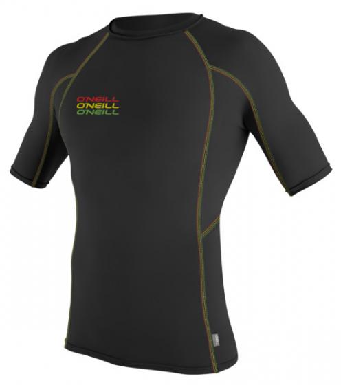 O'Neill Mens Skins Graphic Lycra Rash Vest 2016