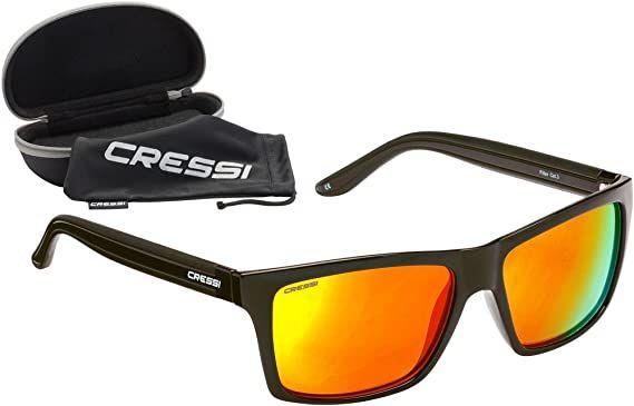 Cressi Rio Sunglasses 2021 - Black/Yellow - Full View