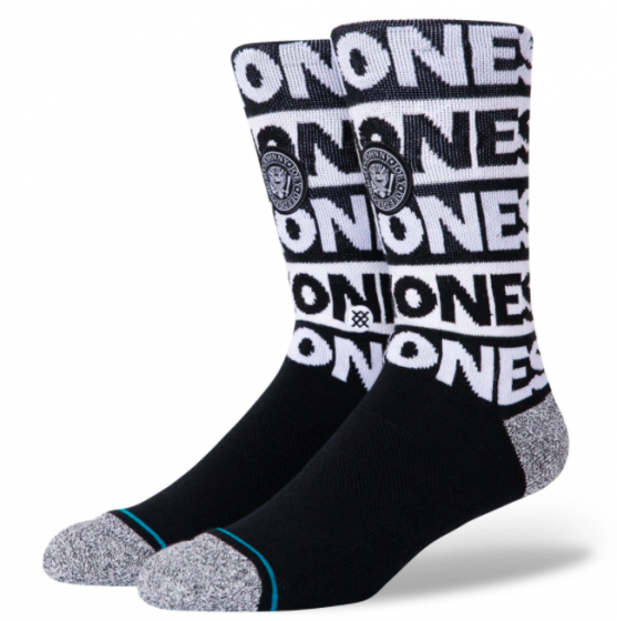 Stance The Ramones Infiknit Socks - Black