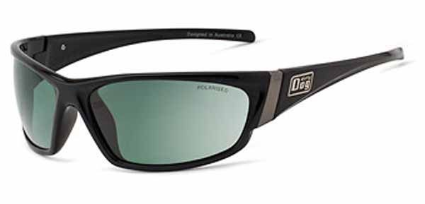 Dirty Dog Stoat Sunglasses - Black / Green