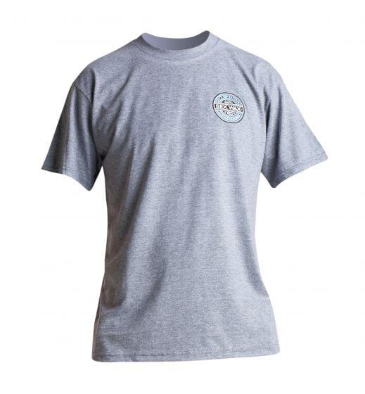 Sex Wax The Fade T Shirt in Grey Marl