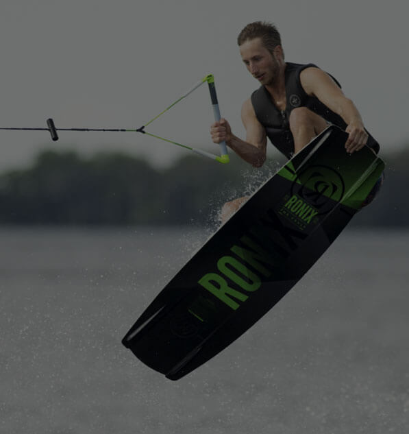 Wakeboarding with Ronix