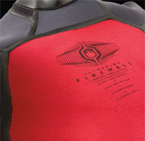 Red soft thermal lining