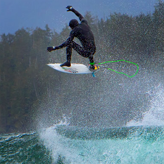 Wetsuit boots to surf safely on boards